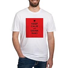 Keep Calm and drink raki Shirt