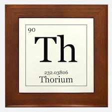 Elements - 90 Thorium Framed Tile
