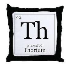 Elements - 90 Thorium Throw Pillow