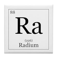 Elements - 88 Radium Tile Coaster