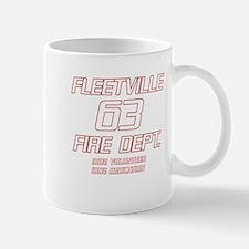 Fleetville Fire Department 100% Volunteer Station