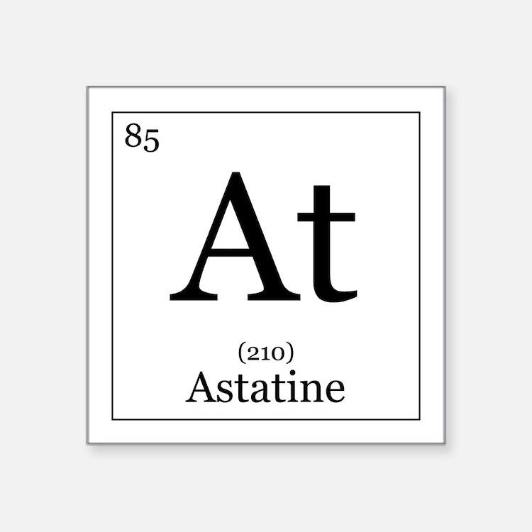 Astatine Stickers | Astatine Sticker Designs | Label ...