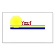 Yosef Rectangle Decal