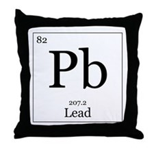 Elements - 82 Lead Throw Pillow