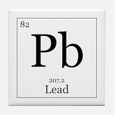 Elements - 82 Lead Tile Coaster