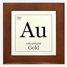 Elements - 79 Gold Framed Tile
