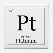 Elements - 78 Platinum Tile Coaster