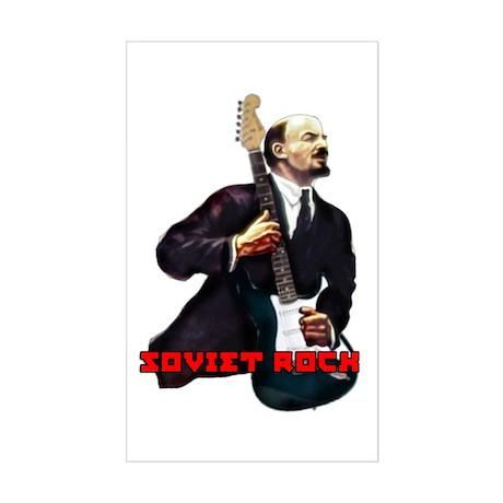 Soviet rock Rectangle Sticker