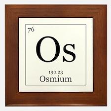 Elements - 76 Osmium Framed Tile