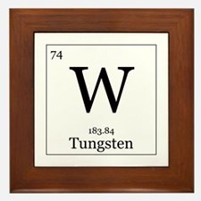 Elements - 74 Tungsten Framed Tile