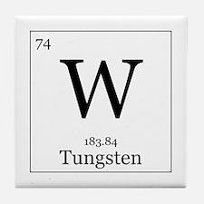 Elements - 74 Tungsten Tile Coaster