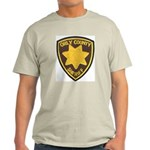 Orly County Sheriff Ash Grey T-Shirt