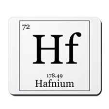 Elements - 72 Hafnium Mousepad