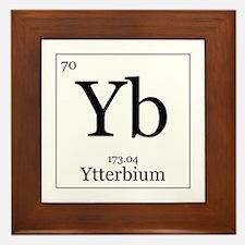 Elements - 70 Ytterbium Framed Tile