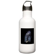 White Stag at Stonehenge - PatronUs Water Bottle
