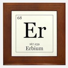 Elements - 68 Erbium Framed Tile