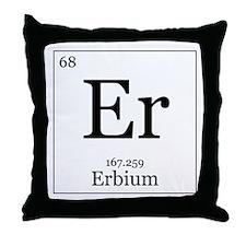 Elements - 68 Erbium Throw Pillow