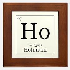 Elements - 67 Holmium Framed Tile