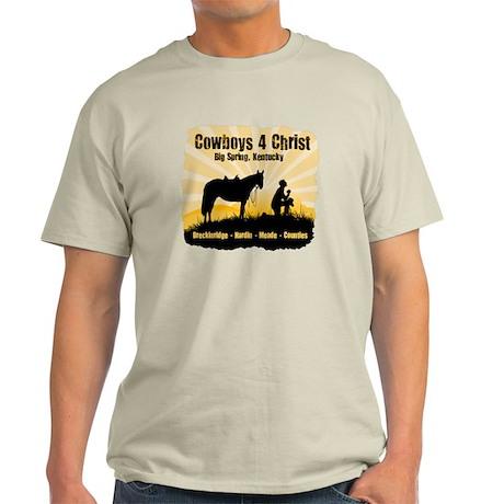 Cowboys 4 Christ Light T-Shirt