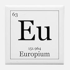 Elements - 63 Europium Tile Coaster