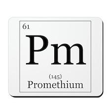 Elements - 61 Promethium Mousepad