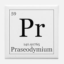 Elements - 59 Praseodymium Tile Coaster