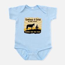 Cowboys 4 Christ Infant Bodysuit