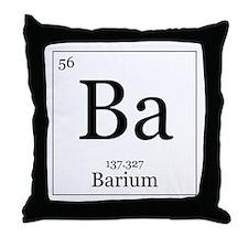 Elements - 56 Barium Throw Pillow