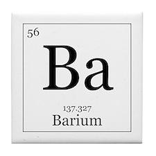 Elements - 56 Barium Tile Coaster