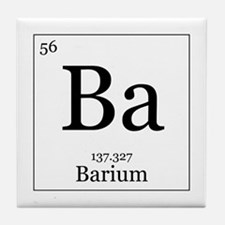 Elements - 56 Barium Tile Coaster