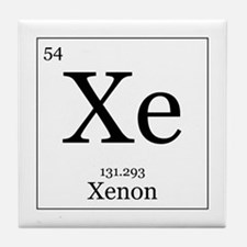 Elements - 54 Xenon Tile Coaster
