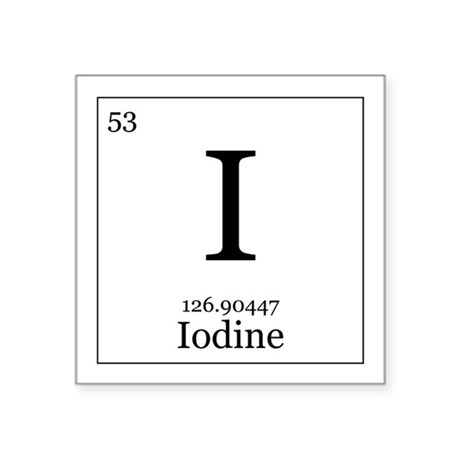 an analysis of the element iodine Define iodine: a nonmetallic halogen element obtained usually as heavy shining blackish-gray crystals and used especially in medicine and analysis.