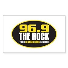 969 The Rock Your Classic Rock Station Stickers