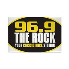 969 The Rock Your Classic Rock Station Rectangle M