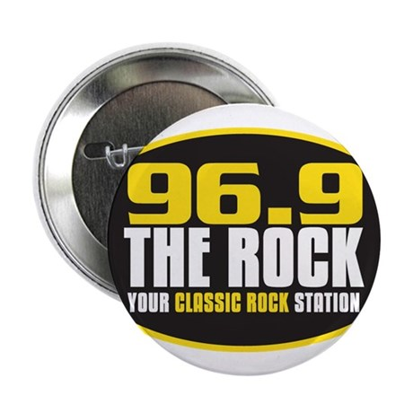 "969 The Rock Your Classic Rock Station 2.25"" Butto"