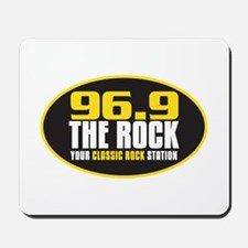 969 The Rock Your Classic Rock Station Mousepad