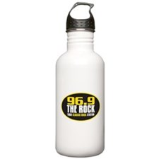 969 The Rock Your Classic Rock Station Water Bottle
