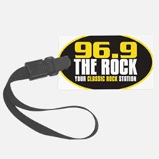 969 The Rock Your Classic Rock Station Luggage Tag