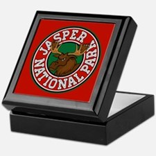Jasper Moose Circle Keepsake Box