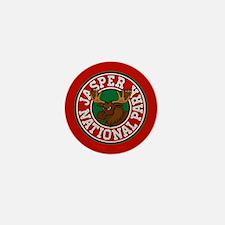 Jasper Moose Circle Mini Button