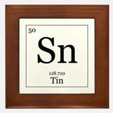 Elements - 50 Tin Framed Tile