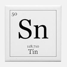 Elements - 50 Tin Tile Coaster