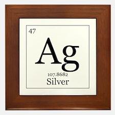 Elements - 47 Silver Framed Tile