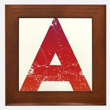 Atheist A Framed Tile