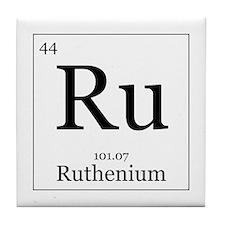 Elements - 44 Ruthenium Tile Coaster