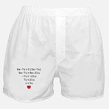 love u Boxer Shorts