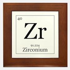 Elements - 40 Zirconium Framed Tile