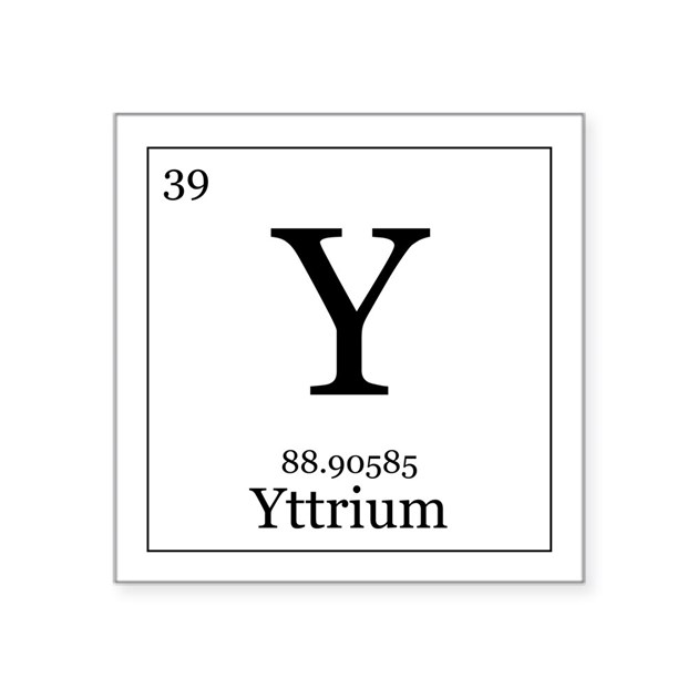 Elements - 39 Yttrium ...