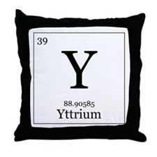 Periodic Table Yttrium Pillows, Periodic Table Yttrium ...