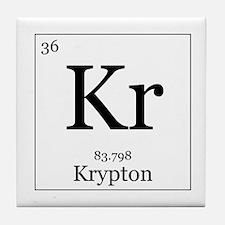Elements - 36 Krypton Tile Coaster